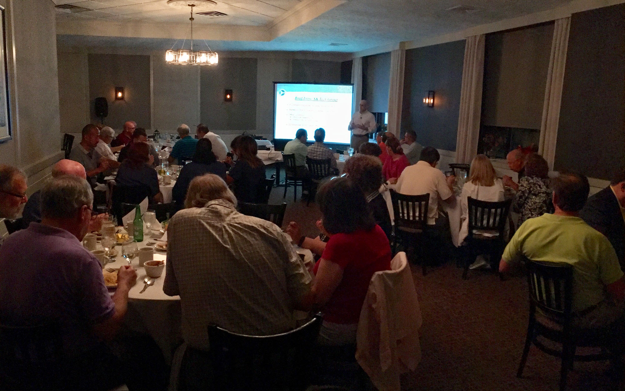 """Practical & Practice-able HIPAA Compliance"" delivered by Mark Kiefer to Philadelphia area study clubs"